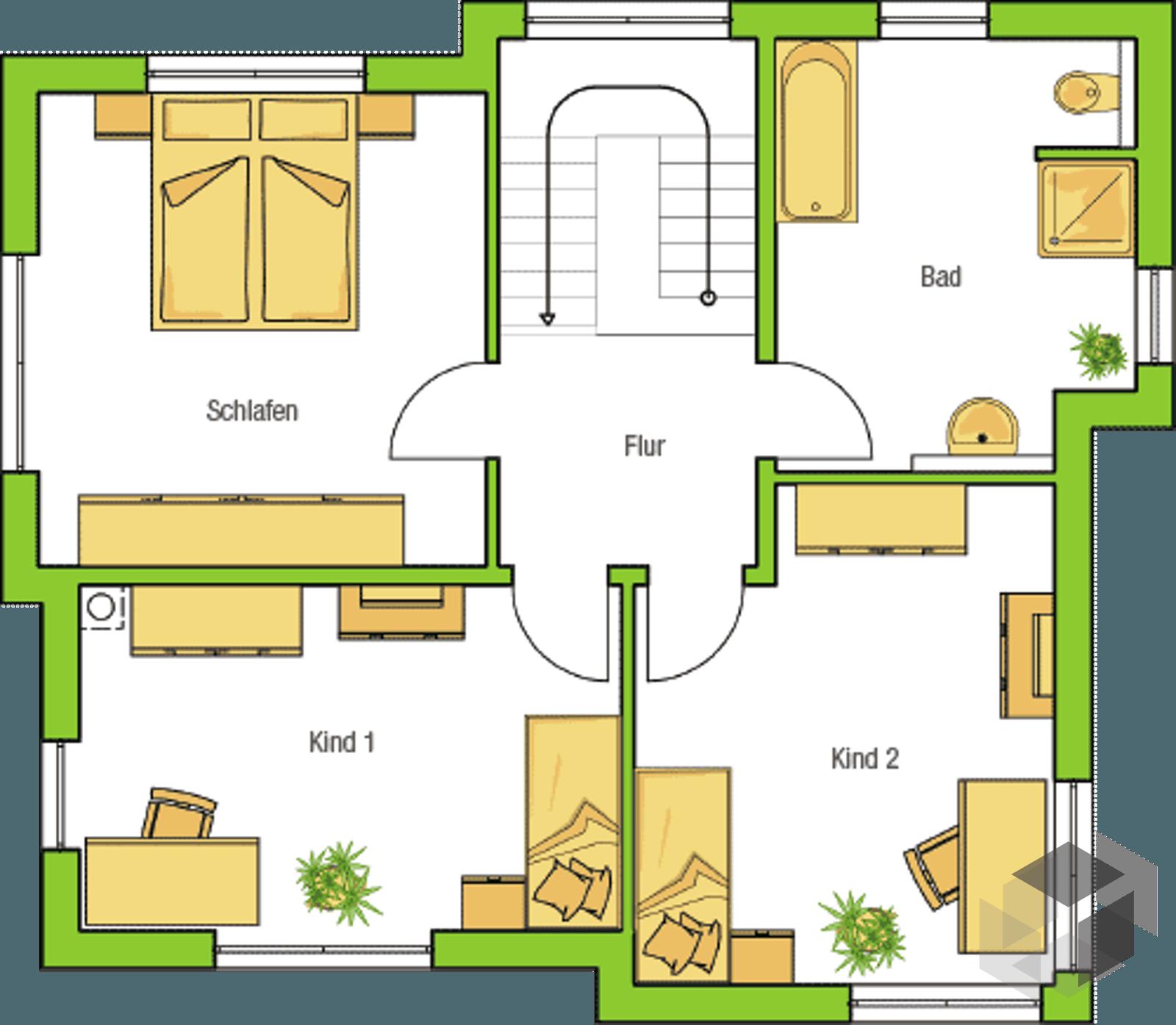 malaga von helma eigenheimbau komplette daten bersicht. Black Bedroom Furniture Sets. Home Design Ideas