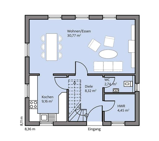 Mammen - Albers Floorplan 1