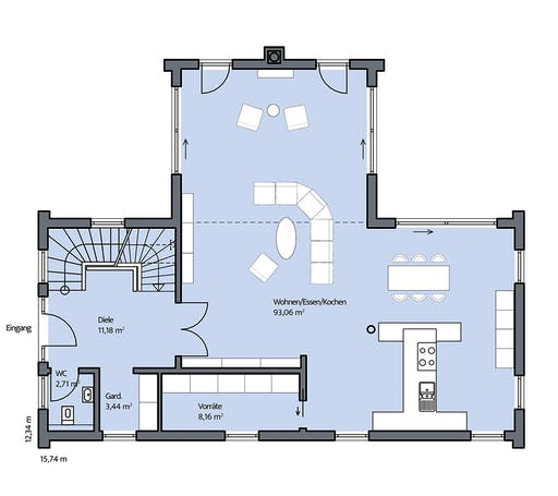 Mammen - Christiansen Floorplan 1