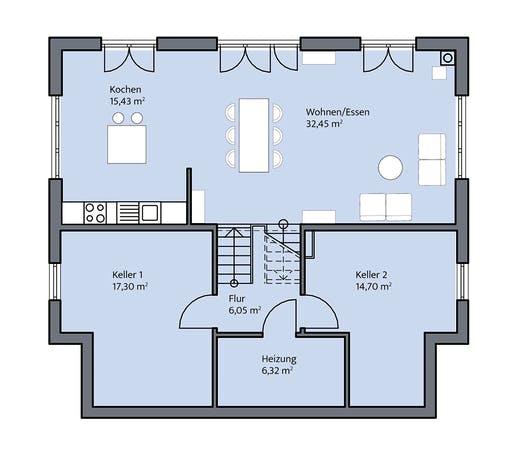 Mammen - Fischer Floorplan 3