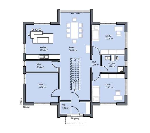 Mammen - König Floorplan 1