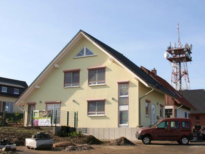 Maria (KfW-Effizienzhaus 40) von Dammann-Haus Außenansicht 1