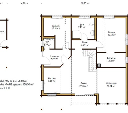 Marie Floorplan 1