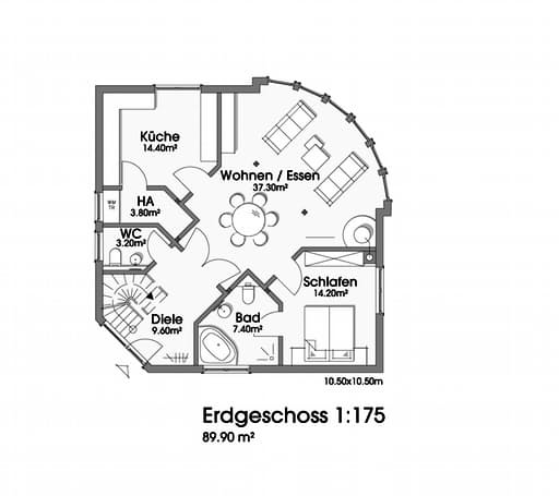 Martina (KfW-Effizienzhaus 55) floor_plans 1