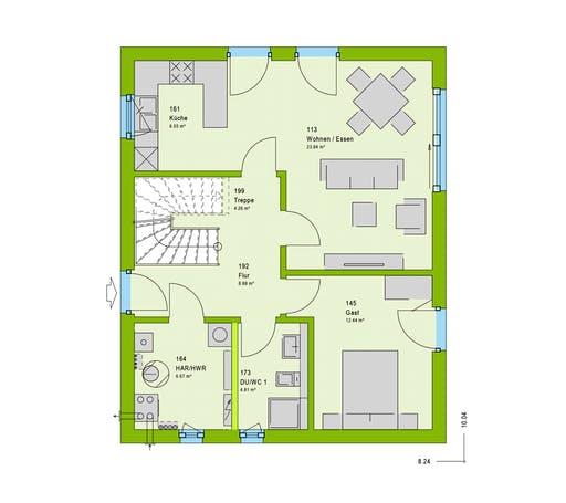 Massa - LifeStyle 1 GT Floorplan 1