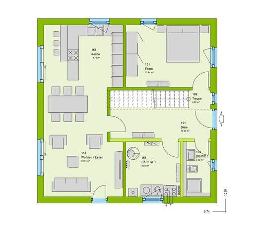 Massa - LifeStyle 2 GT Floorplan 1