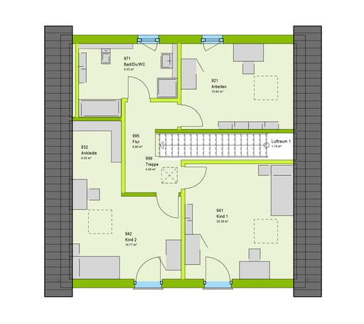 Massa - LifeStyle 2 GT Floorplan 2