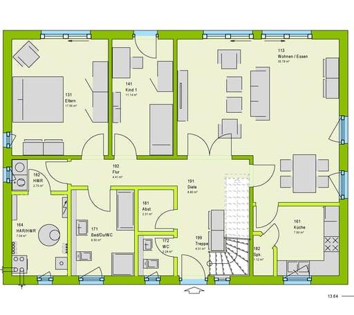 Massa - LifeStyle 4 Floorplan 1