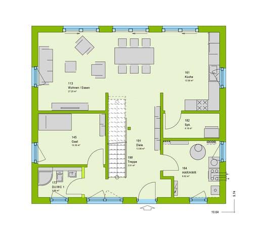Massa - LifeStyle 5 GT Floorplan 1