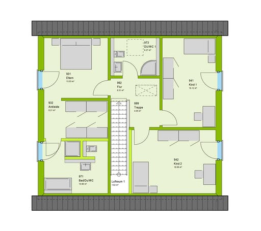 Massa - LifeStyle 5 GT Floorplan 2