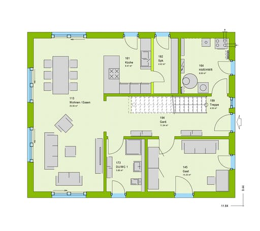 Massa - LifeStyle 9 GT Floorplan 1