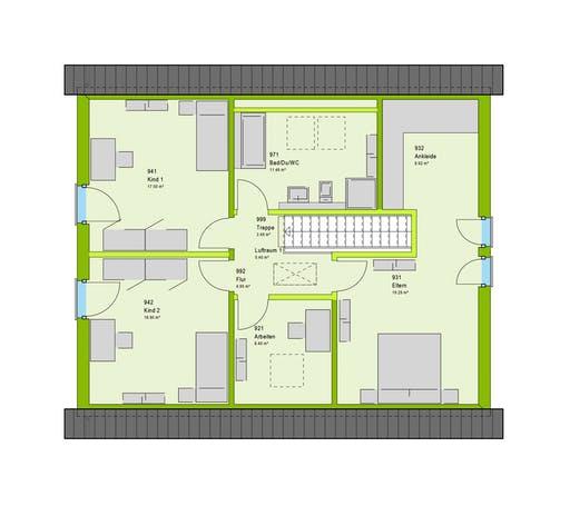 Massa - LifeStyle 9 GT Floorplan 2