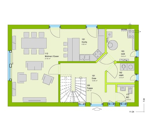 Massa - LifeStyle 24 Floorplan 1