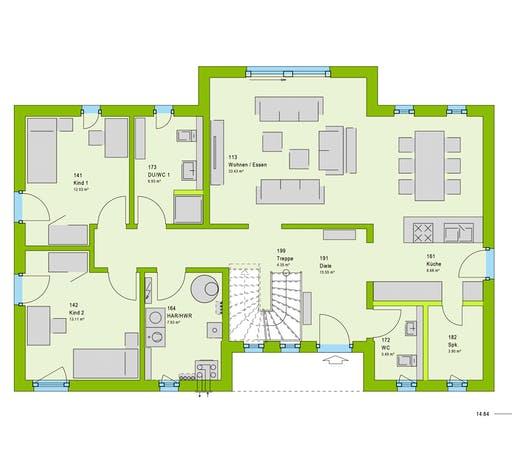 Massa - LifeStyle 38 GT Floorplan 1