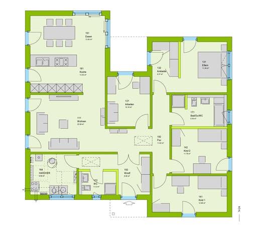 Massa - LifeStyle 39 Floorplan 1