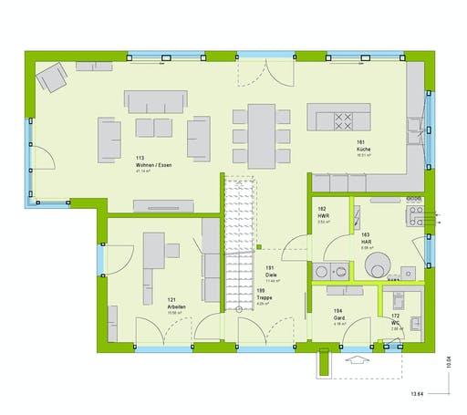 Massa - Pure 5 Floorplan 1