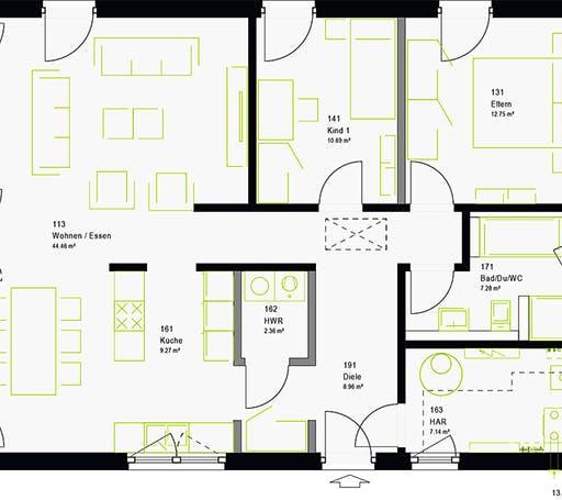 Massa - ComfortStyle 10.01 P Floorplan 7