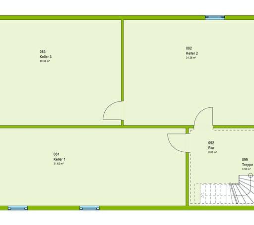 Massa ComfortStyle 10.01 W Floorplan 3