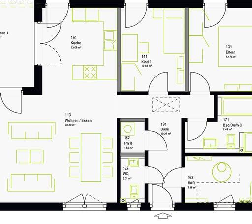 Massa - ComfortStyle 10.02 W Floorplan 7