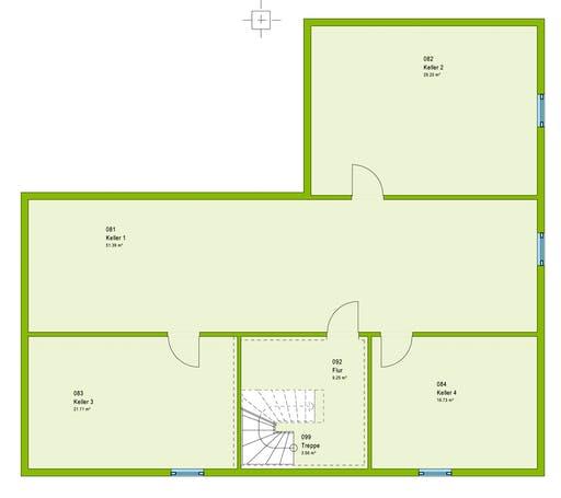 Massa ComfortStyle 13.01 W Floorplan 2
