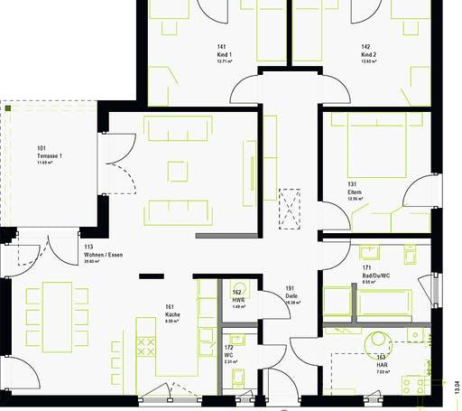 Massa - ComfortStyle 13.03 W Floorplan 7