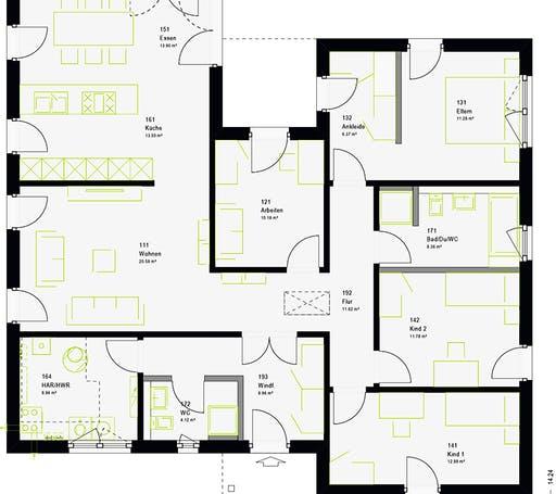 Massa - ComfortStyle 14.01 P Floorplan 7