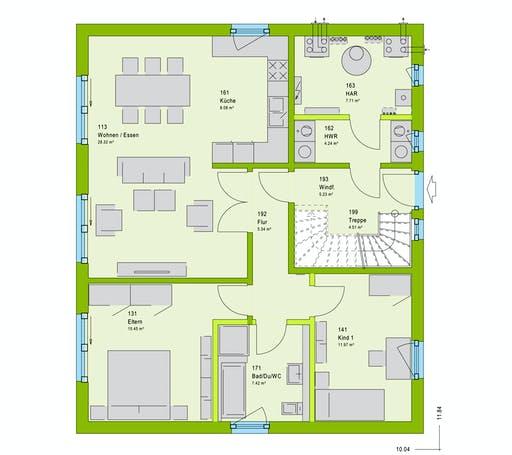 Massa FamilyStyle 17.01 S Floorplan 1