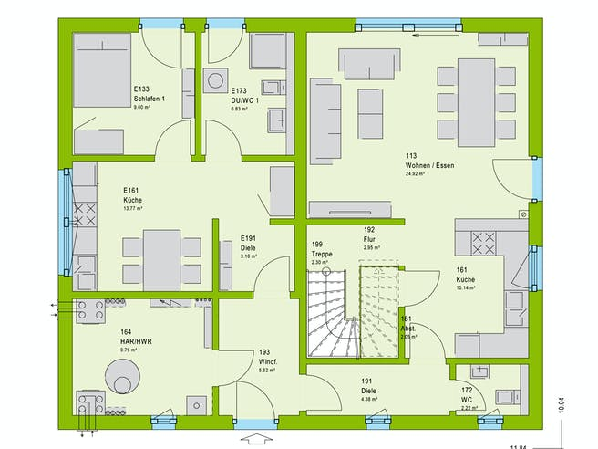 Massa FamilyStyle 18.01 S Floorplan 1