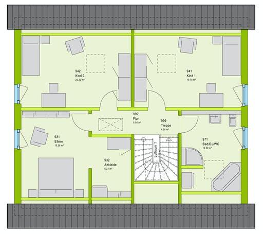 Massa FamilyStyle 18.01 S Floorplan 2