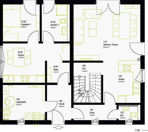 Massa - FamilyStyle 18.01 S Floorplan 7