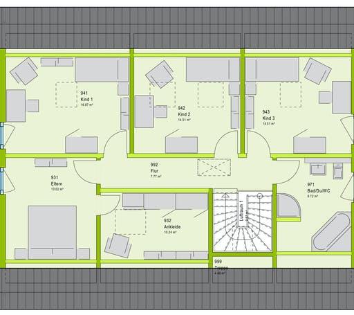 Massa FamilyStyle 20.01 S Floorplan 2