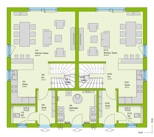 Massa FamilyStyle 21.02 S Floorplan 1