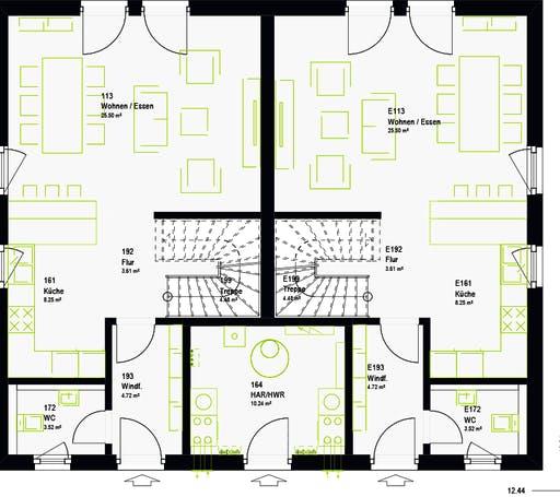 Massa - FamilyStyle 21.01 S Floorplan 7