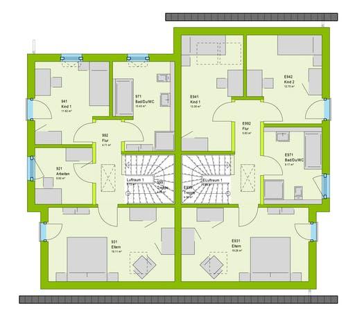 Massa FamilyStyle 24.01 S Floorplan 2