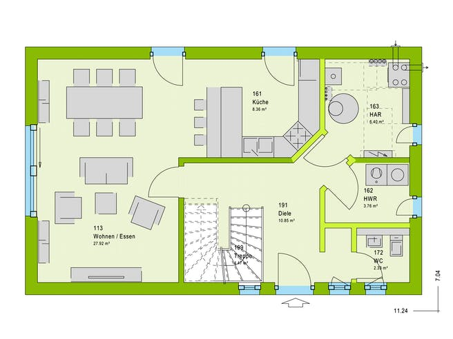 Massa LifeStyle 12.01 S Floorplan 1