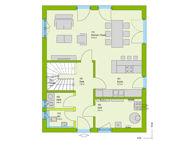 Massa LifeStyle 13.01 S Floorplan 1