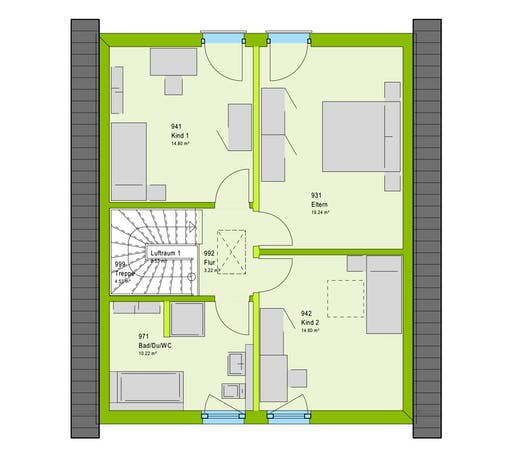 Massa LifeStyle 13.01 S Floorplan 2