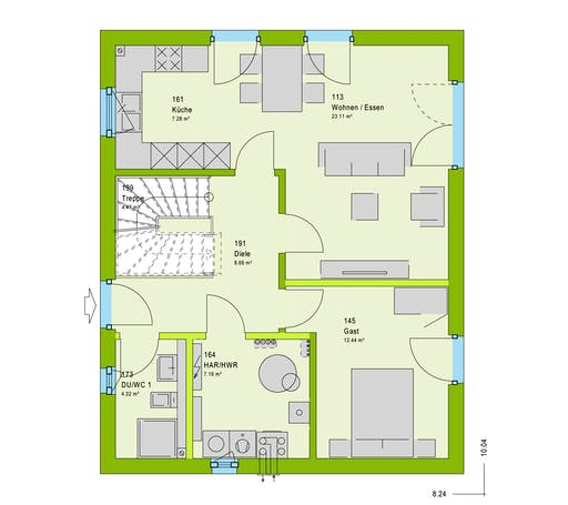 Massa LifeStyle 13.02 S Floorplan 1