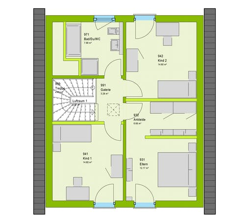 Massa LifeStyle 13.02 S Floorplan 2