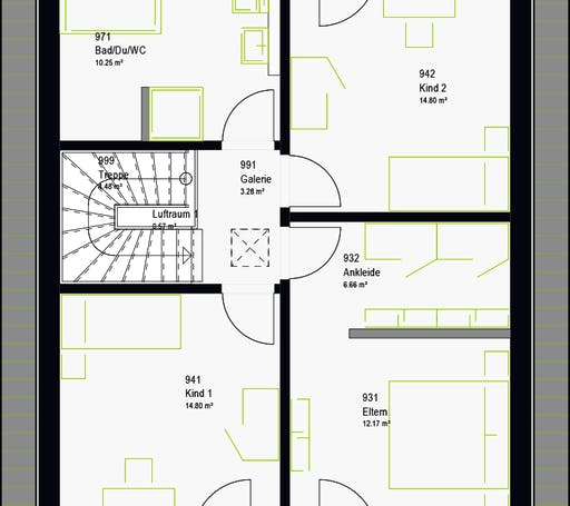 Massa - LifeStyle 13.02 S Floorplan 8