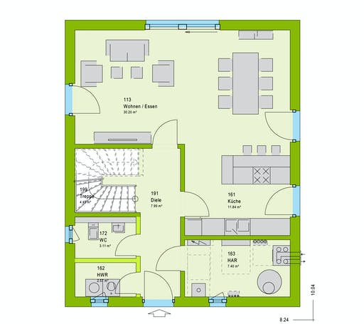 Massa LifeStyle 13.03 S Floorplan 1