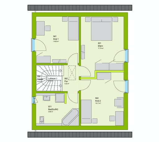 Massa LifeStyle 13.03 S Floorplan 2