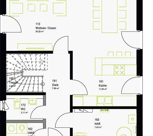 Massa - LifeStyle 13.03 S Floorplan 7
