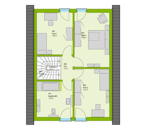 Massa LifeStyle 13.07 S Floorplan 2