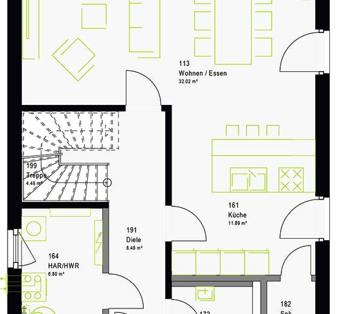 Massa - LifeStyle 13.07 S Floorplan 7