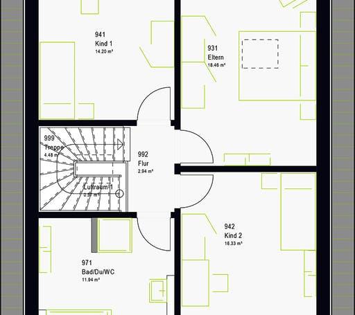 Massa - LifeStyle 13.07 S Floorplan 8