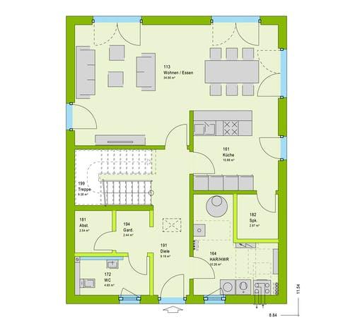 Massa LifeStyle 13.09 W Floorplan 1