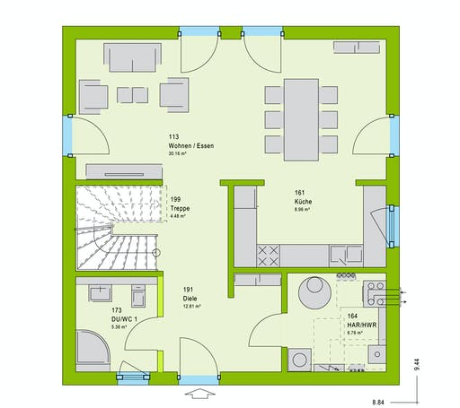 Massa LifeStyle 13.10 F Floorplan 1