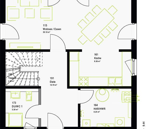 Massa - LifeStyle 13.10 W Floorplan 7