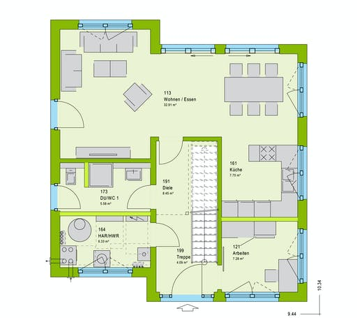 Massa LifeStyle 13.11 P Floorplan 1